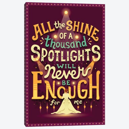 Never Enough Canvas Print #RRO60} by Risa Rodil Canvas Wall Art
