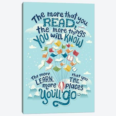 Dr Seuss Quote Canvas Print #RRO7} by Risa Rodil Canvas Art Print