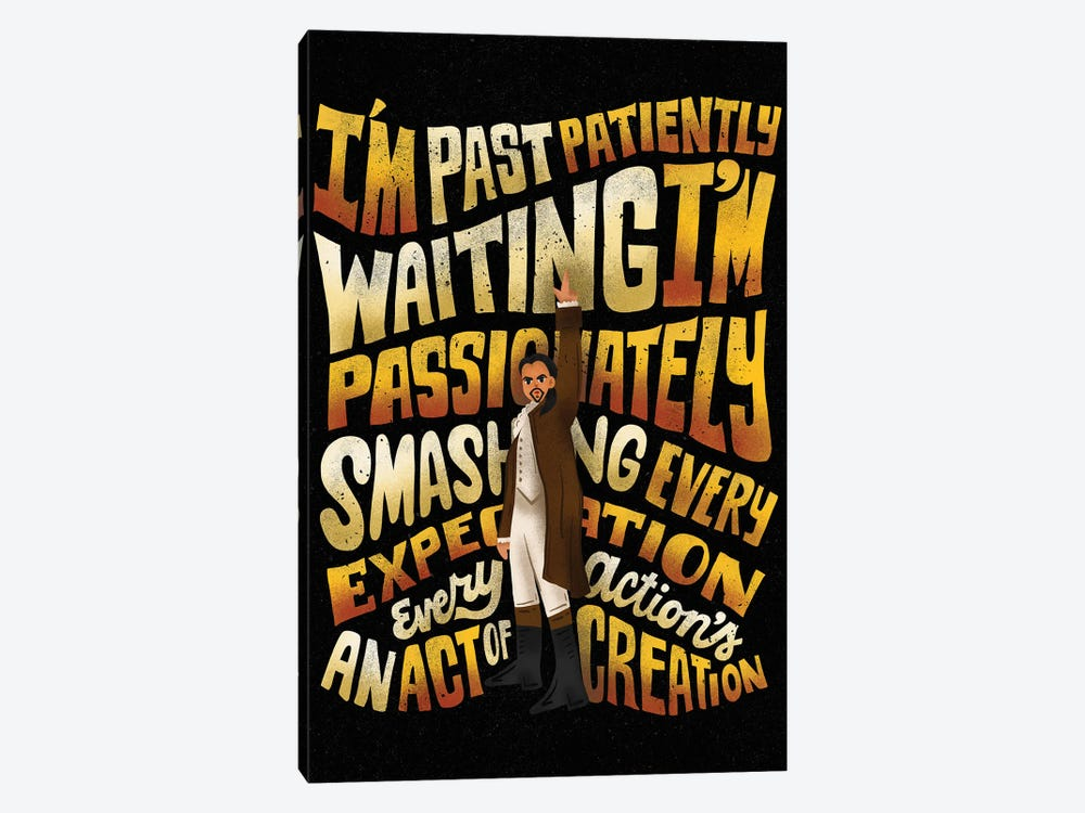 Smashing Every Expectation by Risa Rodil 1-piece Canvas Wall Art