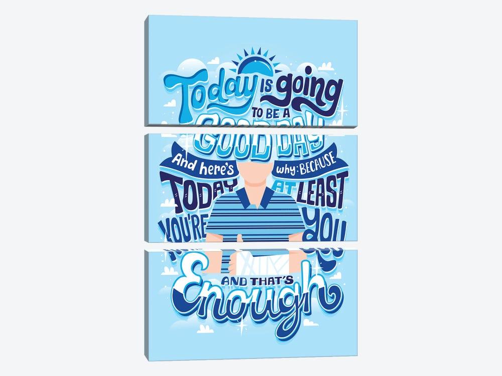 You're Enough by Risa Rodil 3-piece Canvas Print