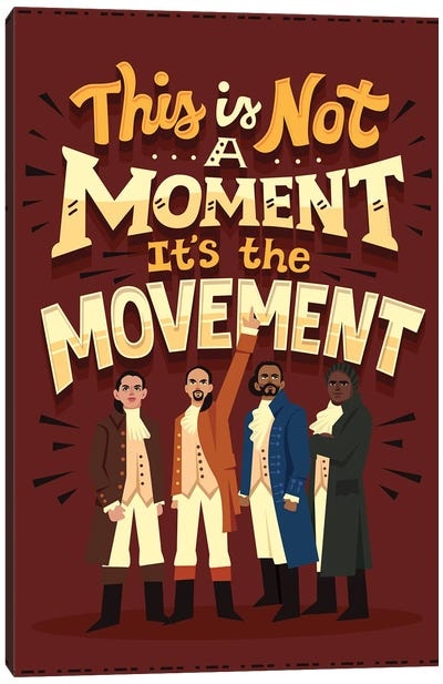 It's The Movement Canvas Art Print