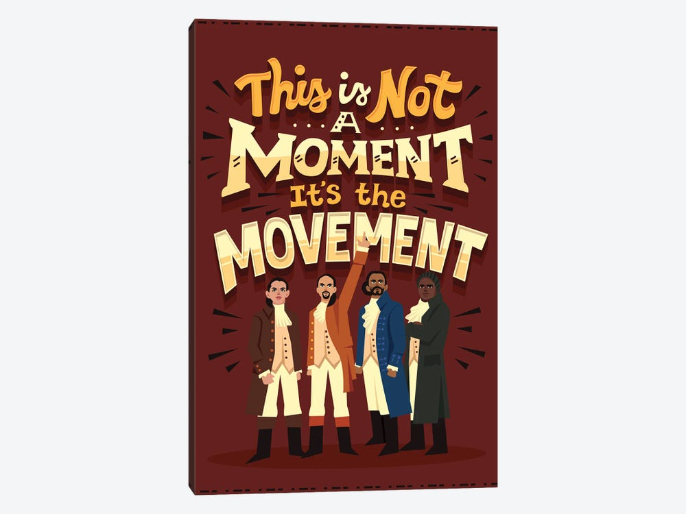 It's The Movement by Risa Rodil 1-piece Canvas Print
