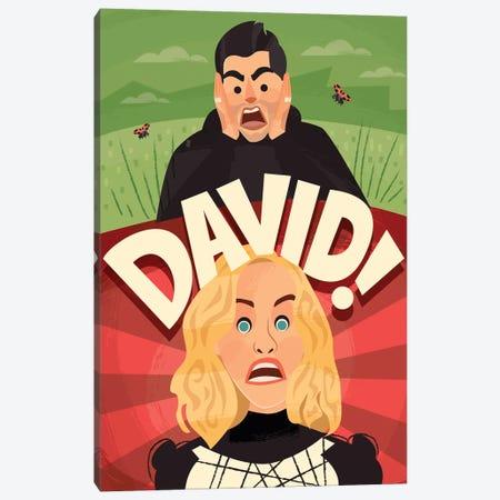 David! Canvas Print #RRO96} by Risa Rodil Canvas Art