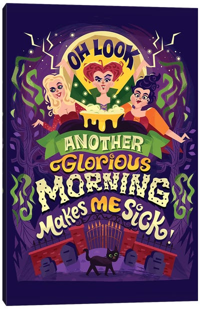 Glorious Morning Canvas Art Print