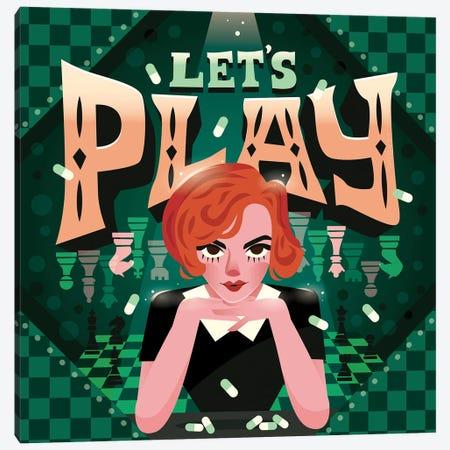 Let's Play Canvas Print #RRO98} by Risa Rodil Canvas Art Print