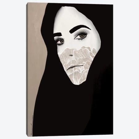 Lockdown Portrait Canvas Print #RRU10} by Ramona Russu Art Print