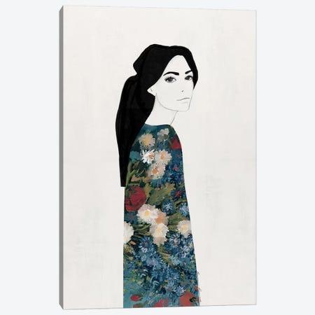 Maci Canvas Print #RRU11} by Ramona Russu Art Print