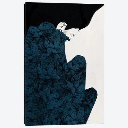 Peonies In Lockdown Canvas Print #RRU13} by Ramona Russu Canvas Art Print