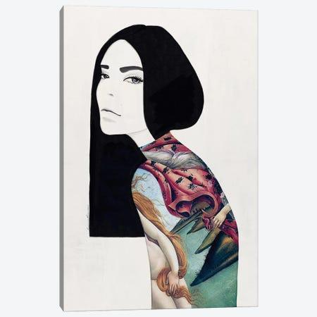The Birth Canvas Print #RRU15} by Ramona Russu Canvas Artwork