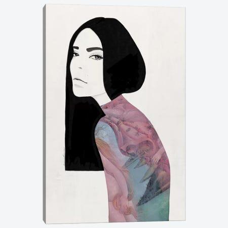 Venus Pastel Canvas Print #RRU19} by Ramona Russu Canvas Print