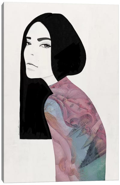 Venus Pastel Canvas Art Print