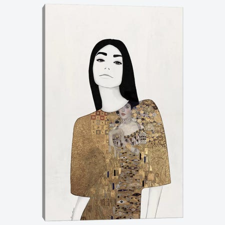 Adèle Canvas Print #RRU1} by Ramona Russu Canvas Print