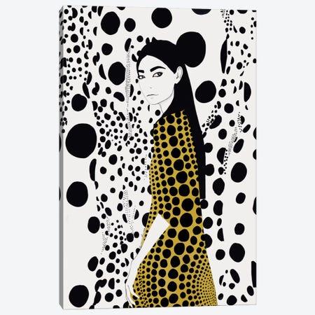 Dots Canvas Print #RRU2} by Ramona Russu Canvas Print
