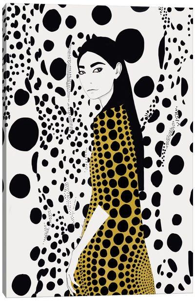 Dots Canvas Art Print