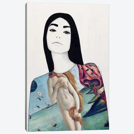 Frankie Canvas Print #RRU3} by Ramona Russu Canvas Print