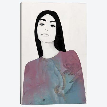 Frankie Pastel Canvas Print #RRU5} by Ramona Russu Canvas Art