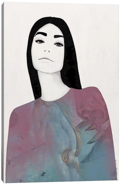 Frankie Pastel Canvas Art Print