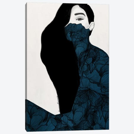 Gigi Canvas Print #RRU6} by Ramona Russu Canvas Art