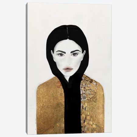 Kissed Canvas Print #RRU7} by Ramona Russu Canvas Art