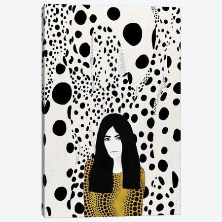 Kusama Canvas Print #RRU8} by Ramona Russu Canvas Print