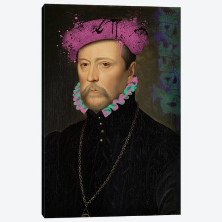 François de Scépeaux -The Detailed Self Portrait Canvas Print #RRX11} by 5by5collective Canvas Art
