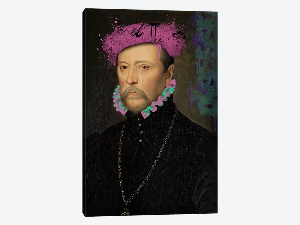 François de Scépeaux -The Detailed Self Portrait by 5by5collective 1-piece Canvas Art Print