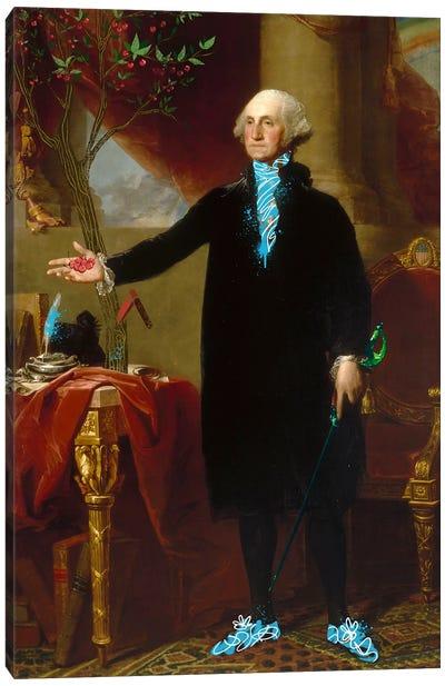 George Washington -The Man who Cut down the Cherry Tree Canvas Print #RRX15