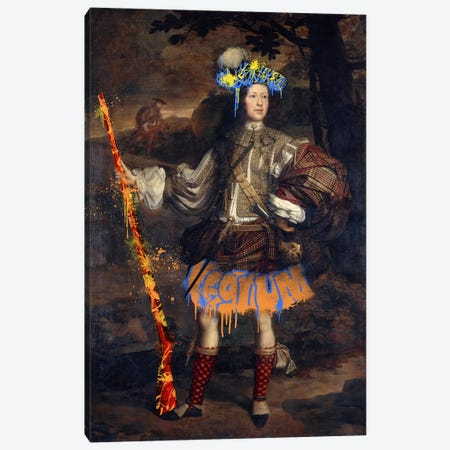 Lord Mungo Murray -The Royal Hunter Canvas Print #RRX21} by 5by5collective Art Print