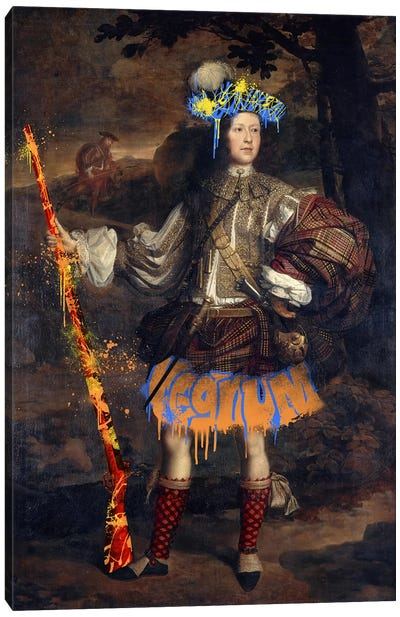 Lord Mungo Murray -The Royal Hunter Canvas Art Print