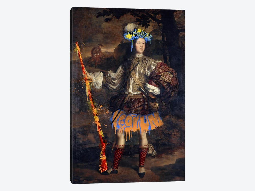 Lord Mungo Murray -The Royal Hunter by 5by5collective 1-piece Canvas Art