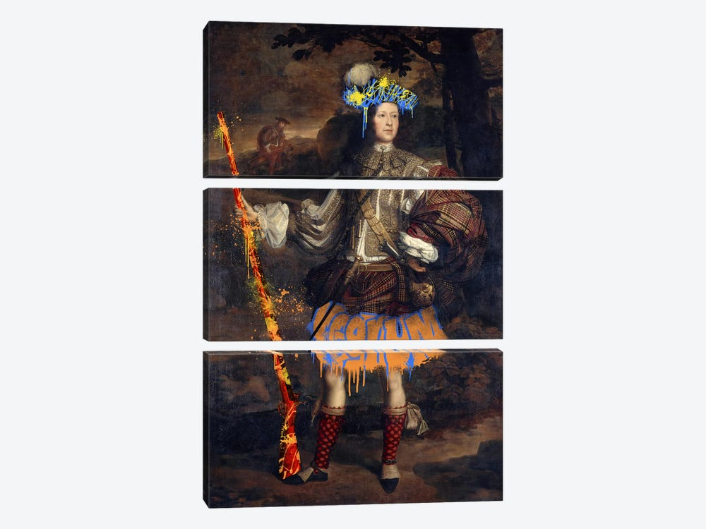 Lord Mungo Murray -The Royal Hunter by 5by5collective 3-piece Canvas Art