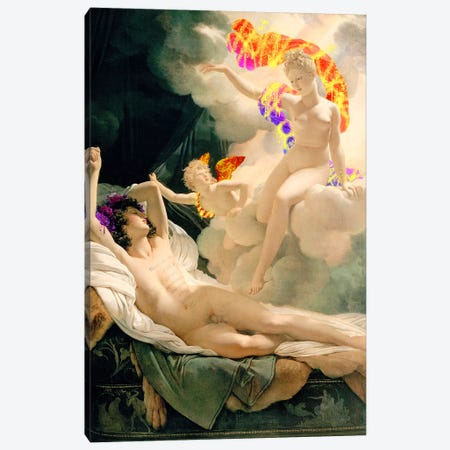 Morpheus and Iris - Messenger of the Gods and God of Dreams Canvas Print #RRX27} by 5by5collective Canvas Artwork