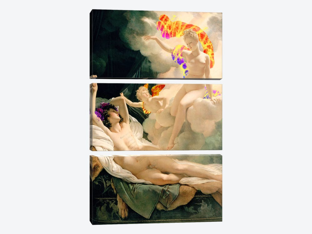 Morpheus and Iris - Messenger of the Gods and God of Dreams by 5by5collective 3-piece Canvas Artwork