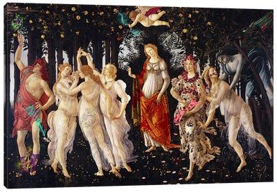 Primavera -The Celebration of Spring  Canvas Art Print
