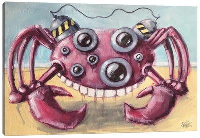 Crab Bot Canvas Art Print