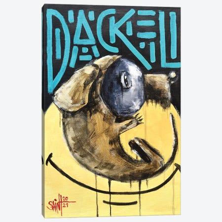 Dackel Canvas Print #RSA12} by Ruslan Aksenov Canvas Art