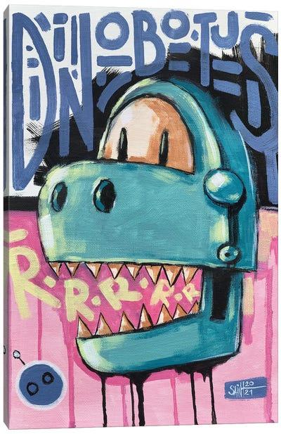 Dinobotus Canvas Art Print