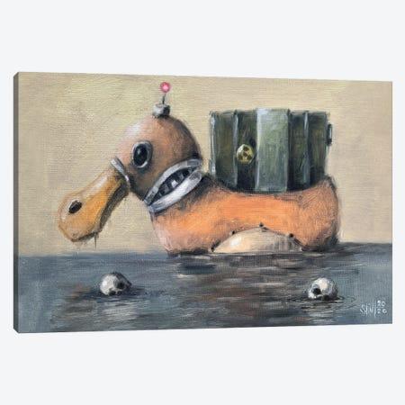 Duck Robot II Canvas Print #RSA19} by Ruslan Aksenov Canvas Wall Art