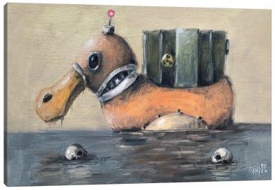 Duck Robot II Canvas Art Print