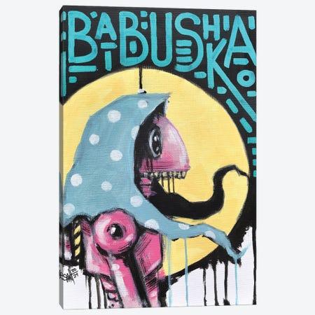 Babushka Canvas Print #RSA1} by Ruslan Aksenov Canvas Print