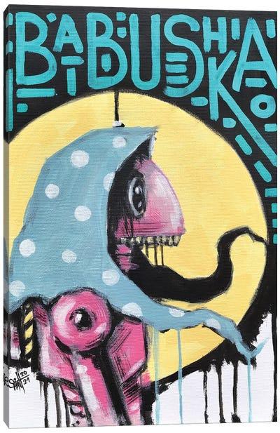 Babushka Canvas Art Print