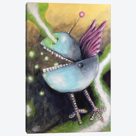 Epic Bluebird Canvas Print #RSA21} by Ruslan Aksenov Canvas Print
