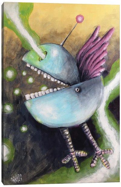 Epic Bluebird Canvas Art Print