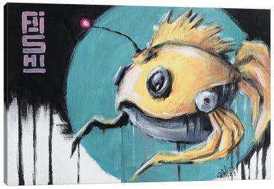 Fish Bot V Canvas Art Print