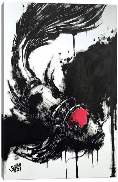 Ink Fish Canvas Art Print