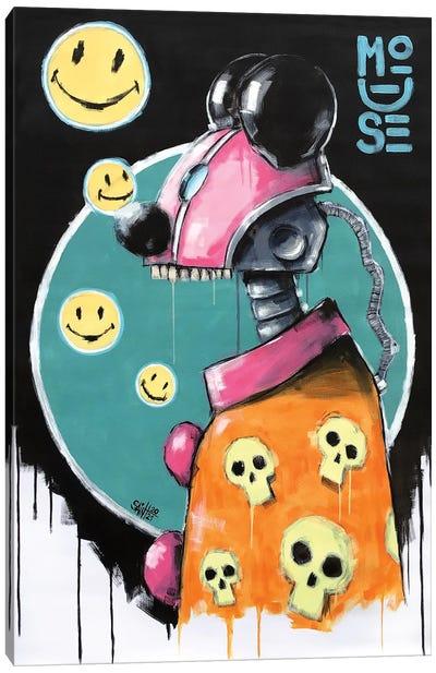 Mouse Robot II Canvas Art Print
