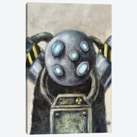 Multi-Eyed Robot Canvas Print #RSA36} by Ruslan Aksenov Canvas Art Print