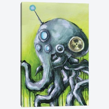 Octopus Robot Canvas Print #RSA38} by Ruslan Aksenov Canvas Art