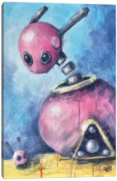 Pink Bunnies Canvas Art Print