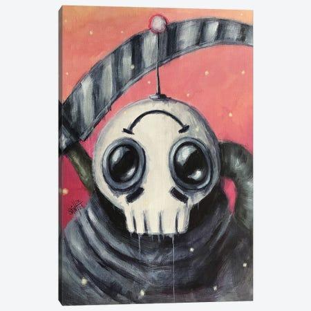 Reaper Robot Canvas Print #RSA47} by Ruslan Aksenov Canvas Art
